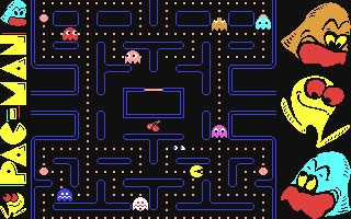 Pac Man Arcade [Preview] - Commodore 64 (C64) rom download